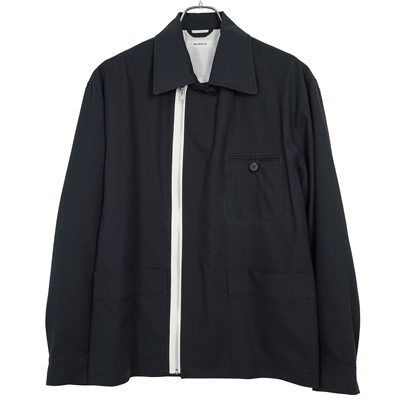 MATSUFUJI [ Modified Farmers Jacket ] BLACK