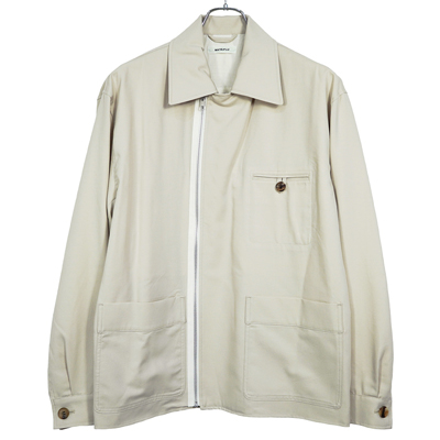 MATSUFUJI [ Modified Farmers Jacket ] GREIGE