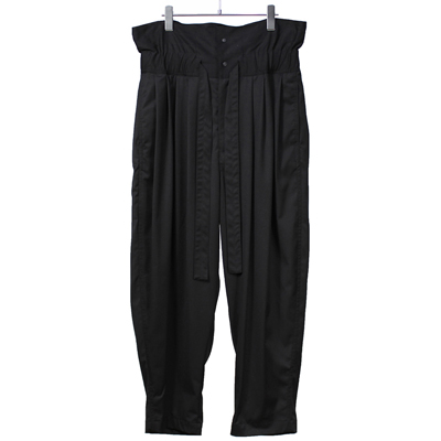 Sasquatchfabrix. [ NANPOU HIGH WAIST PANTS ] BLACK