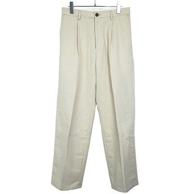 MATSUFUJI [ Modified Farmers Trousers ] GREIGE