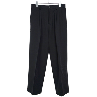 MATSUFUJI [ Modified Farmers Trousers ] BLACK
