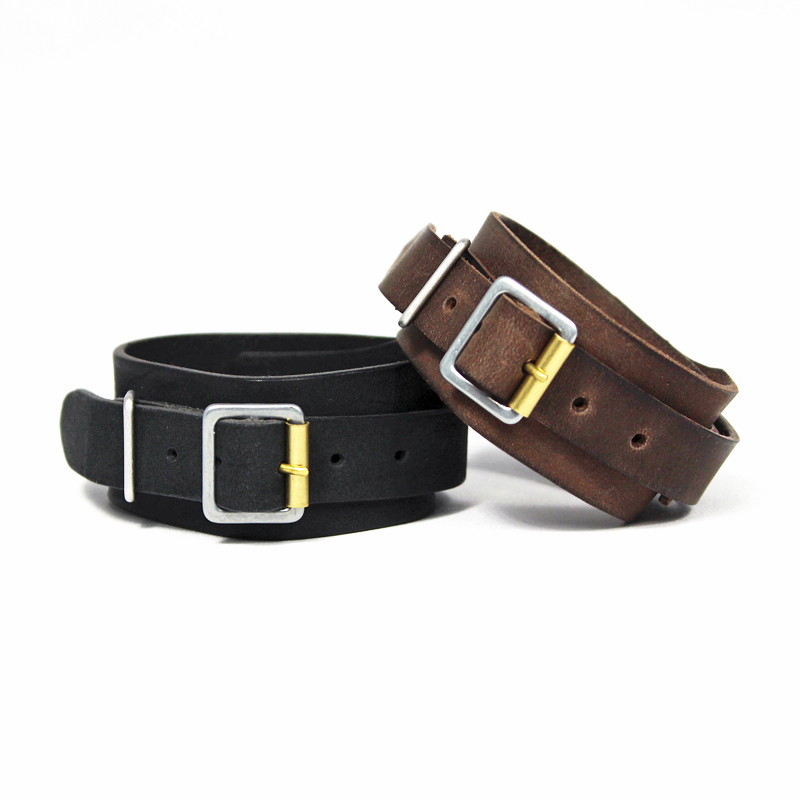 nuterm [ Leather Wristband ]