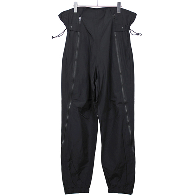 Sasquatchfabrix. [ ZIP FLIGHT PANTS ] BLACK