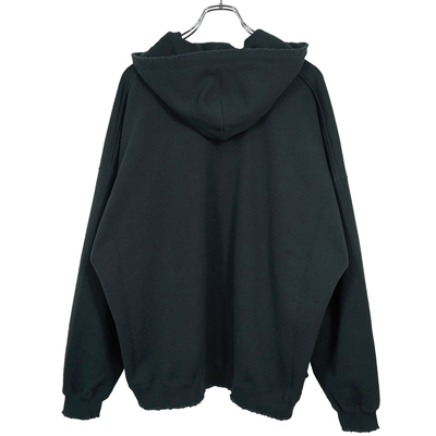 "DAIRIKU [ ""Water-Repellent"" Skipper Cut off Hoodie ]"