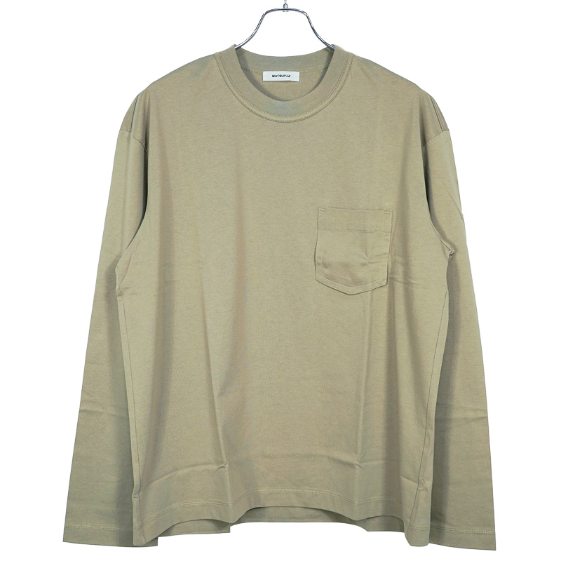 MATSUFUJI [ Long Sleeve Pocket T-shirt ]