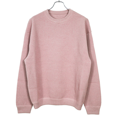 crepuscule [ Moss stitch L/S sweat ]