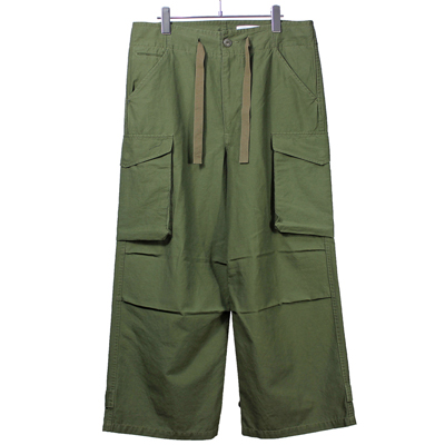 nuterm [ Easy Cargo Trousers ] アーミーグリーン