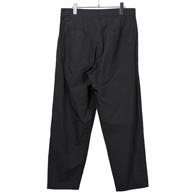 nuterm [ Tapered Work Trousers ] ブラック
