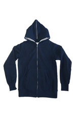 NuGgETS [ Hooded Parker-Full Zip ] NAVY