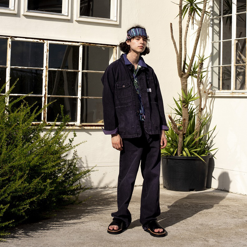 "DAIRIKU [ ""WASH N'WEAR"" Denim Pants ]"