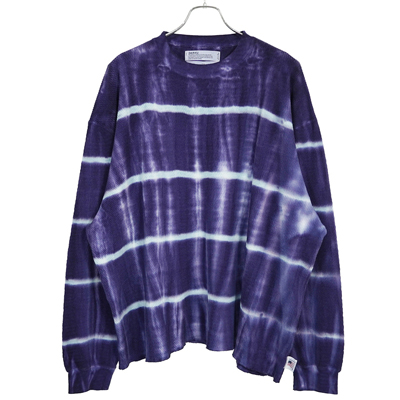 DAIRIKU [ Tie-dye Thermal Tee ] Night