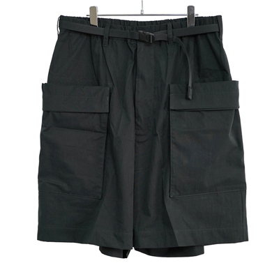 ESSAY [ ACID SHORT PANTS (P-1) ] BLACK