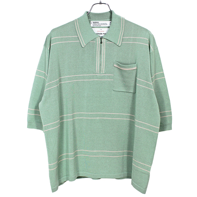DAIRIKU [ Half Zip Polo Knit ]