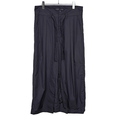 Sasquatchfabrix. [ NYLON HAKAMA PANTS ] BLACK BERRY