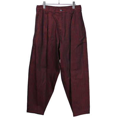 YANTOR [ Denim 1 tuck Pants ]