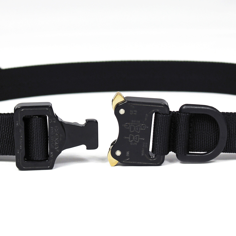bagjack [ NXL cobra 25mm belt(芯あり) ] black