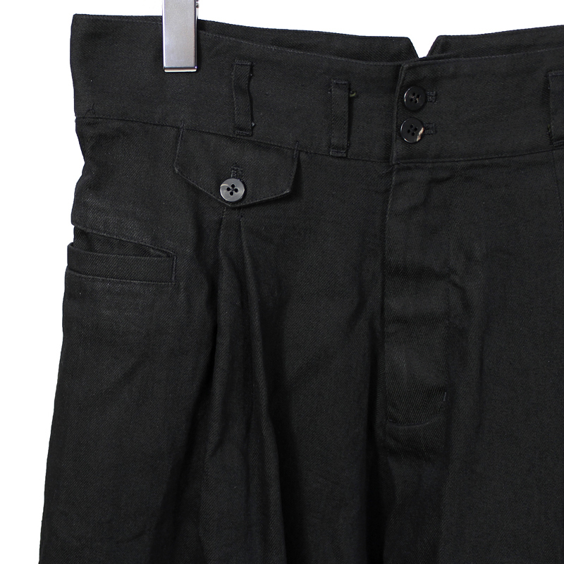 YANTOR [ Denim 2tuck Pants ]