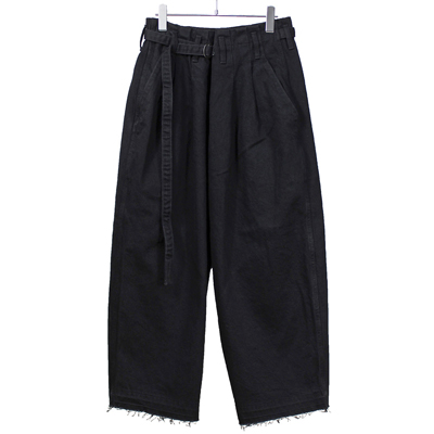 ESSAY [ HAKAMA DENIM (P-2) ] BLACK