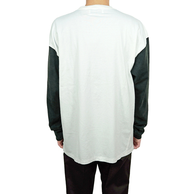 UNUSED [ US1957 (Long sleeve t-shirt) ] WHITE×BLACK