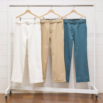 UNUSED [ UW0840 (belted pants) ] BEIGE