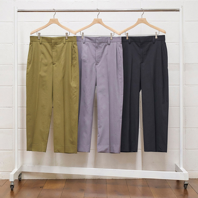 UNUSED [ UW0836 (tuck pants) ] GRAY