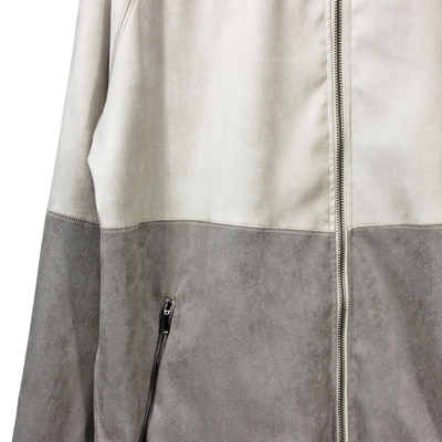 YANTOR [ Suede Jarsey suits ] WHITE×GRAY