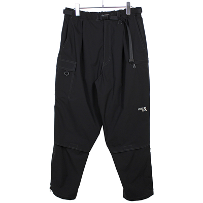 ESSAY [ TECH PANTS V2 (P-4) ] BLACK