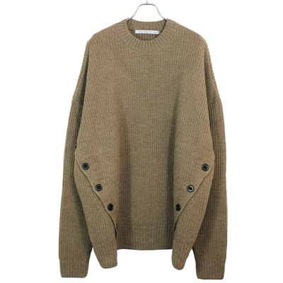 JOHN LAWRENCE SULLIVAN [ FRONT SIDE BUTTONED CN SWEATER ]