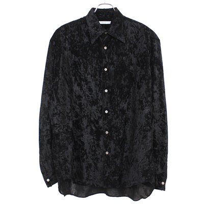 JOHN LAWRENCE SULLIVAN [ REGULAR COLLAR SHIRT ] BLACK