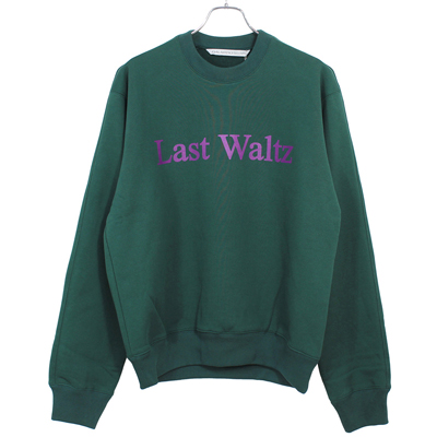 JOHN LAWRENCE SULLIVAN [ PRINTED SWEAT SHIRT ] GREEN