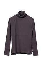 Sasquatchfabrix. [ LAYERED TURTLENECK ] DARK BROWN