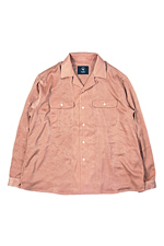 bukht [ OPEN COLLAR SHIRT ] PINK