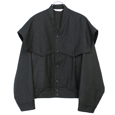Sasquatchfabrix. [ WESTERN SHOULDER JACKET ] BLACK
