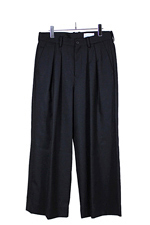 nuterm [ WIDE TROUSERS ] ブラック