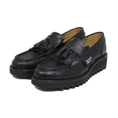 "DAIRIKU [ ""New Hollywood"" Tassel Loafers ] Black"