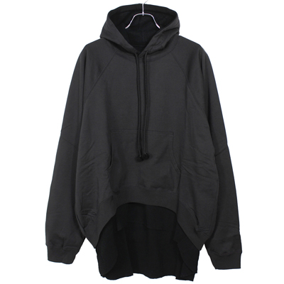 Sasquatchfabrix. [ DOUBLE FACE SWEAT HOODIE ] BLACK
