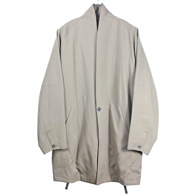 YANTOR [ Wash Wool Fall Jacket  ] BEIGE