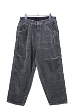 bukht [ BIG CORDUROY PANTS ] CHARCOAL