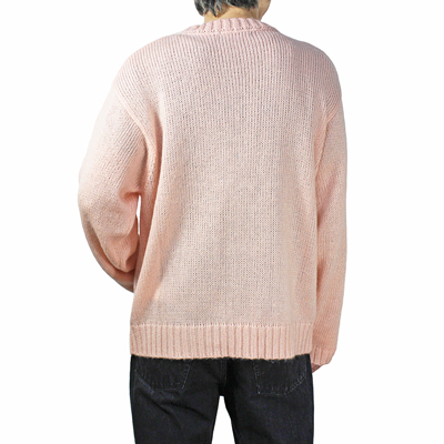 UNUSED [ US1644 (3G crew neck knit) ] SALMON PINK