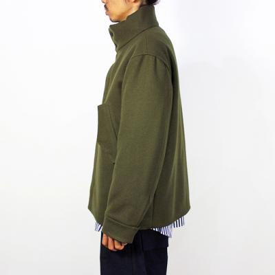 nuterm [ MILITARY OFFICER JACKET ] カーキ