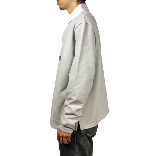"Sasquatchfabrix. [""IHATOV"" RUGGER SHIRT] LIGHTGRAY"