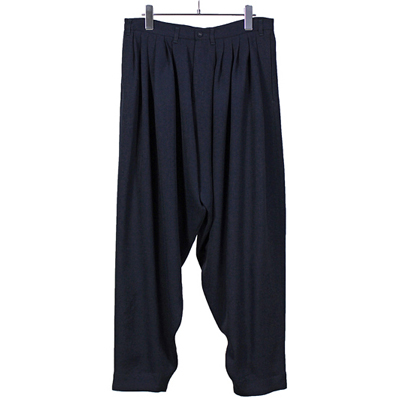YANTOR [ Triace 6 tuck Pants ] NAVY
