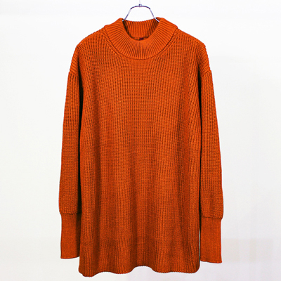 YANTOR [ Round Neck Knit ] ORANGE