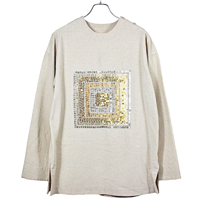 YANTOR [ Mandala embroidery Pullover ] BEG