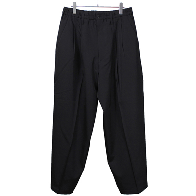 ESSAY [ WIDE SLACKS (P-2) ] BLACK