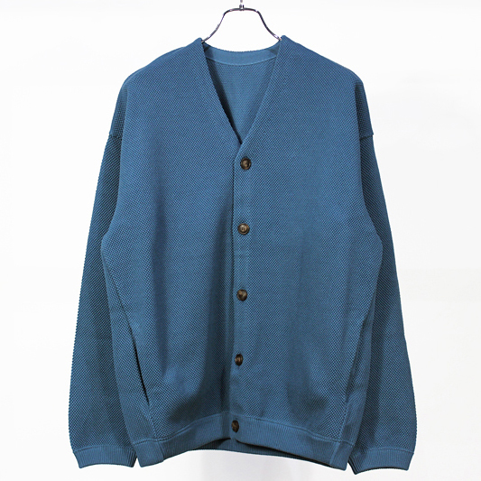 crepuscule [ moss stitch cardigan ] Bluegreen