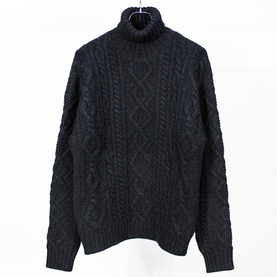 crepuscule [ Cable Knit T/N ] Black