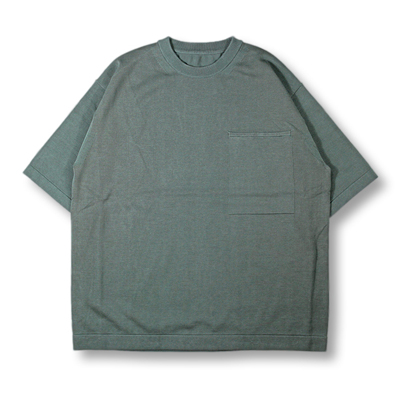 crepuscule [ Pocket Knit S/S ] Green