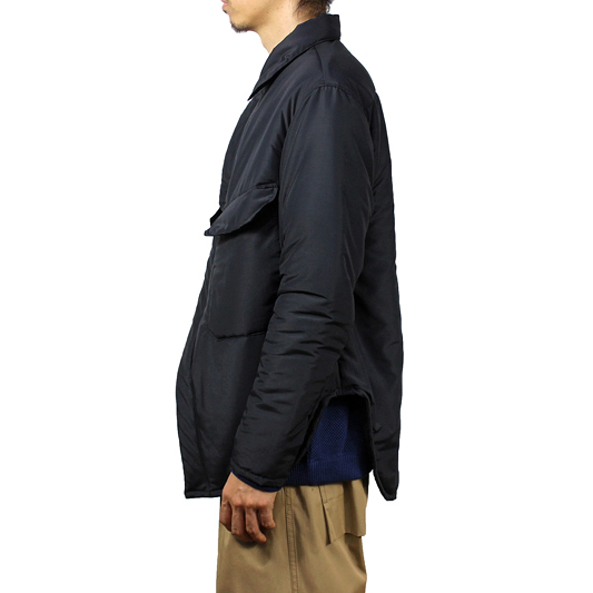 NEON SIGN [ PADDING JACKET ] BLK