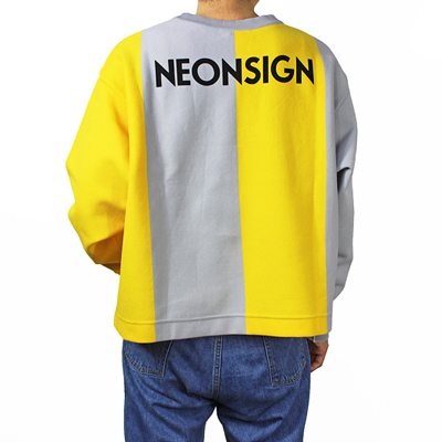 NEON SIGN [ BIG FOOTBALL SWEATER ]